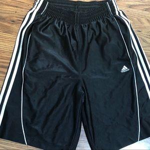 Men's Adidas Athletic Shorts Black Size M